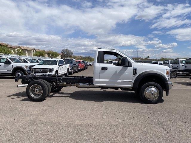2021 Ford F-550 Regular Cab DRW 4x4, Cab Chassis #MDA04898 - photo 4