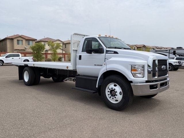 2021 Ford F-650 Regular Cab DRW 4x2, Scelzi Platform Body #MDF04856 - photo 1