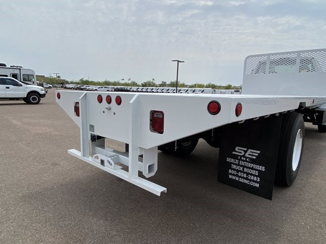 2021 Ford F-650 Regular Cab DRW RWD, Scelzi SFB Platform Body #MDF04857 - photo 8