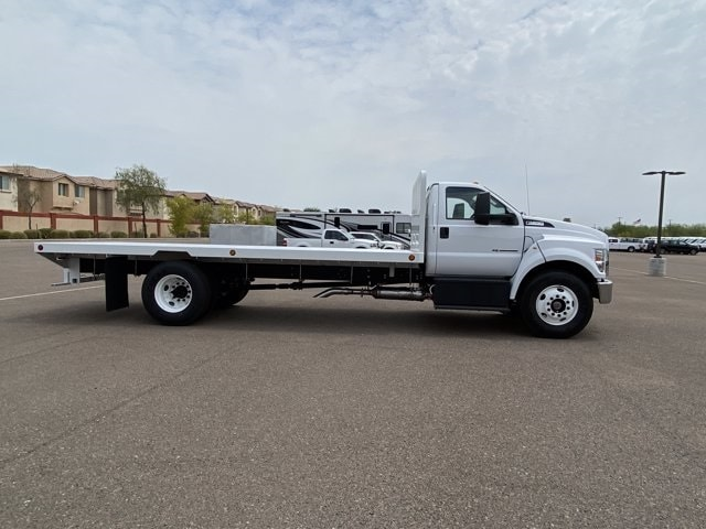 2021 Ford F-650 Regular Cab DRW RWD, Scelzi SFB Platform Body #MDF04860 - photo 4
