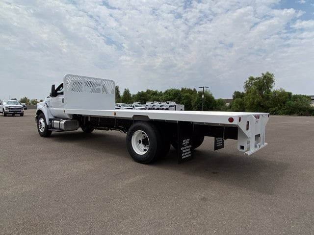 2021 Ford F-650 Regular Cab DRW RWD, Scelzi SFB Platform Body #MDF04860 - photo 7