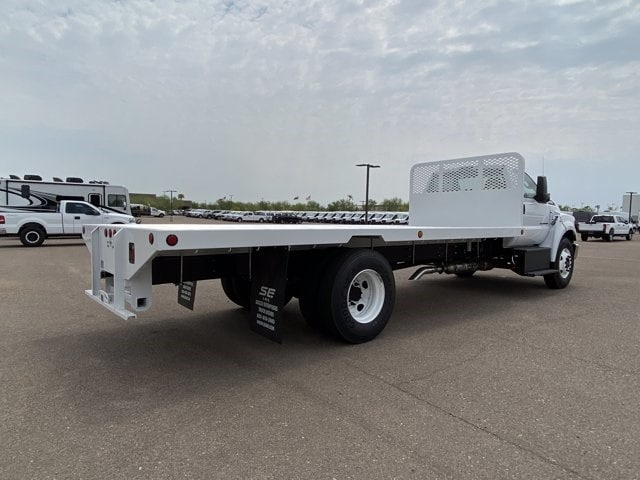 2021 Ford F-650 Regular Cab DRW RWD, Scelzi Platform Body #MDF04860 - photo 1