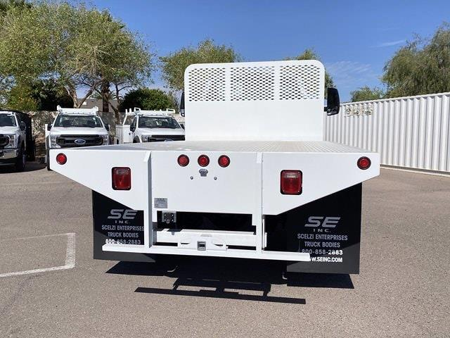 2021 Ford F-750 Regular Cab DRW 4x2, Scelzi SFB Platform Body #MDF06811 - photo 7