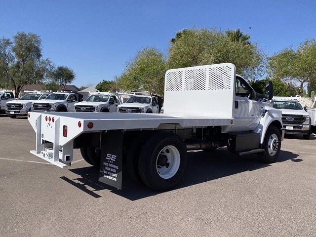2021 Ford F-750 Regular Cab DRW 4x2, Scelzi Platform Body #MDF07738 - photo 1