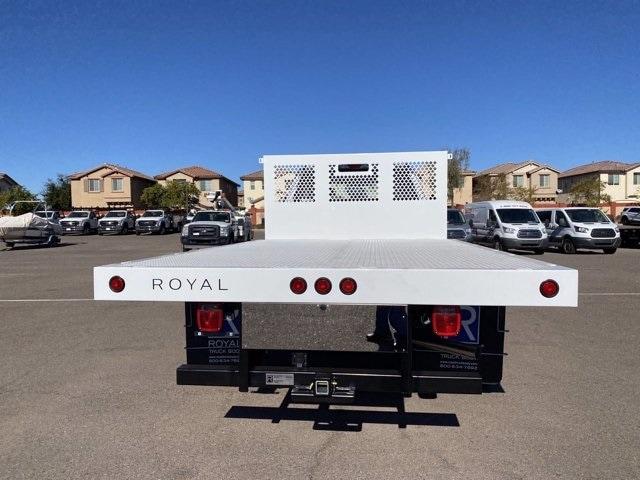 2021 Ford F-550 Crew Cab DRW 4x4, Royal Platform Body #MEC14813 - photo 7