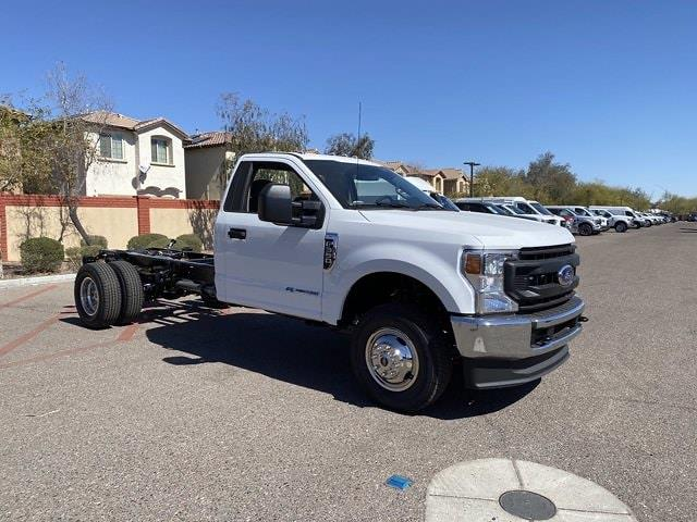 2021 Ford F-350 Regular Cab DRW 4x4, Cab Chassis #MEC71596 - photo 1