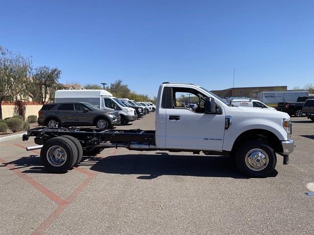 2021 Ford F-350 Regular Cab DRW 4x4, Cab Chassis #MEC71596 - photo 4