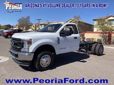2021 Ford F-350 Regular Cab DRW 4x4, Cab Chassis #MEC71596 - photo 21