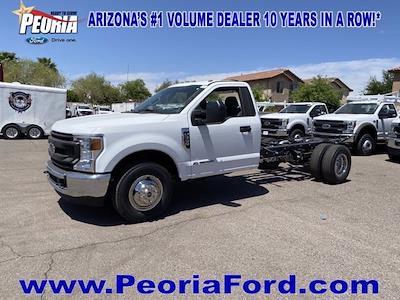 2021 Ford F-350 Regular Cab DRW 4x4, Cab Chassis #MEC71598 - photo 2