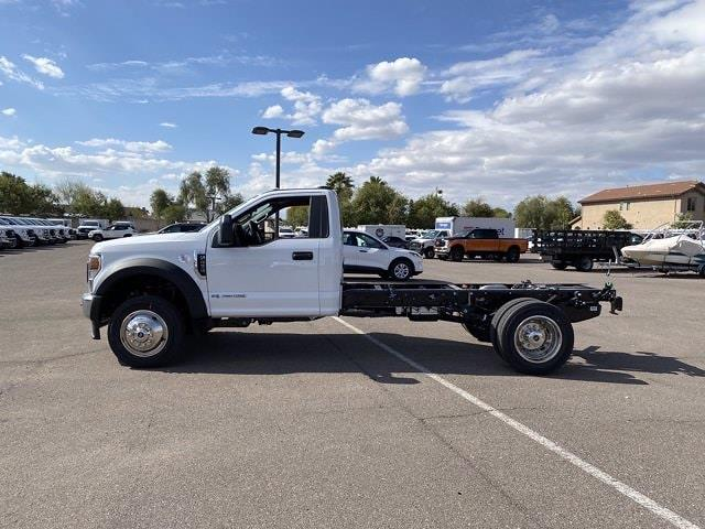 2021 Ford F-450 Regular Cab DRW 4x2, Cab Chassis #MEC71600 - photo 5