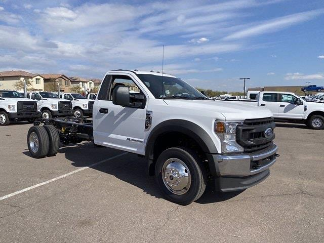 2021 Ford F-450 Regular Cab DRW 4x4, Cab Chassis #MEC71607 - photo 1
