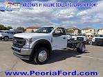 2021 Ford F-450 Regular Cab DRW 4x4, Cab Chassis #MEC71607 - photo 22