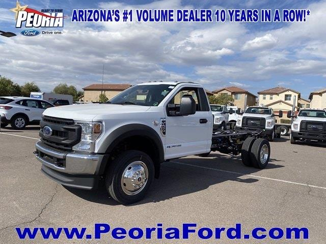 2021 Ford F-450 Regular Cab DRW 4x4, Cab Chassis #MEC71608 - photo 22