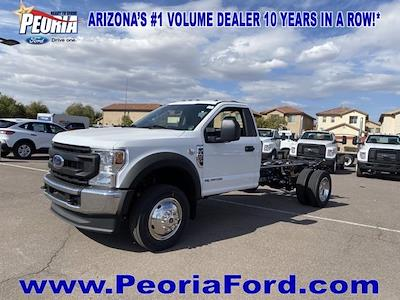 2021 Ford F-450 Regular Cab DRW 4x4, Cab Chassis #MEC71610 - photo 22