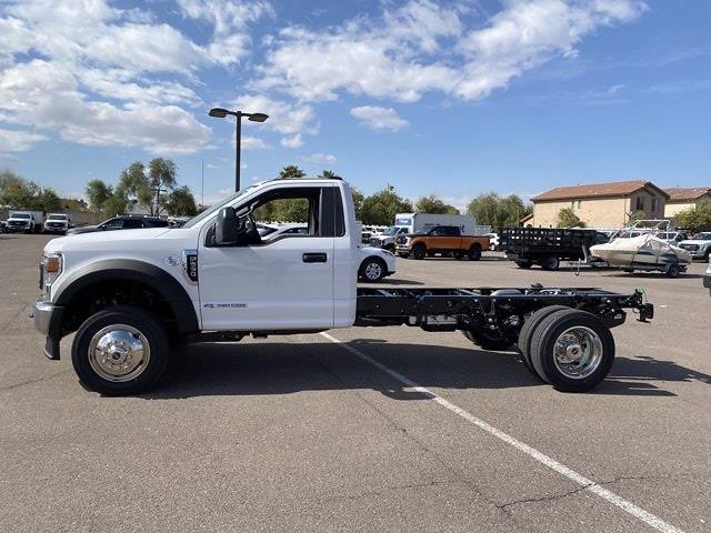 2021 Ford F-550 Regular Cab DRW 4x2, Cab Chassis #MEC71621 - photo 5