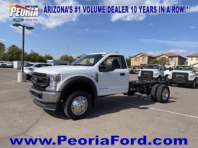 2021 Ford F-550 Regular Cab DRW 4x4, Cab Chassis #MEC71624 - photo 22