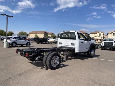 2021 Ford F-550 Regular Cab DRW 4x4, Cab Chassis #MEC71624 - photo 2