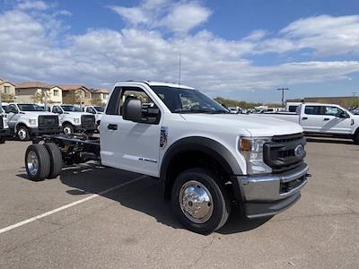 2021 Ford F-550 Regular Cab DRW 4x4, Cab Chassis #MEC71625 - photo 1