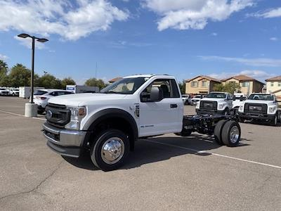 2021 Ford F-550 Regular Cab DRW 4x4, Cab Chassis #MEC71628 - photo 4