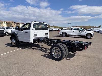 2021 Ford F-550 Regular Cab DRW 4x4, Cab Chassis #MEC71628 - photo 3