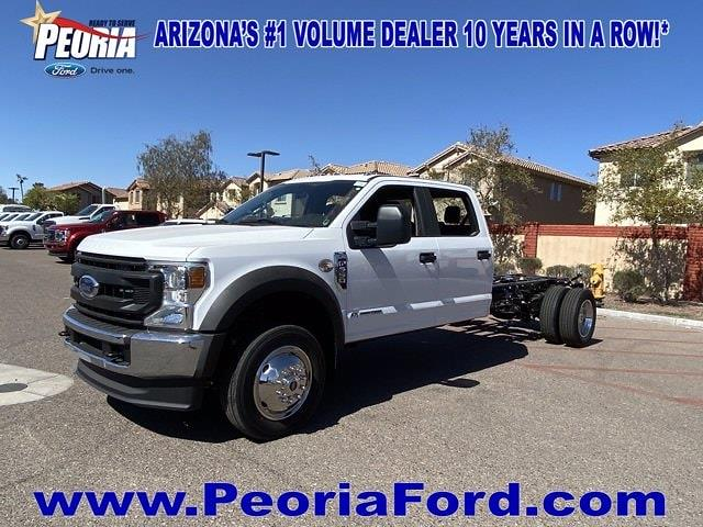 2021 Ford F-550 Crew Cab DRW 4x2, Cab Chassis #MEC71647 - photo 22