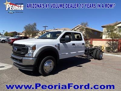 2021 Ford F-550 Crew Cab DRW 4x4, Cab Chassis #MEC71651 - photo 1