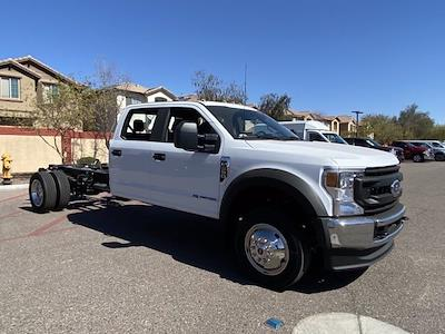 2021 Ford F-550 Crew Cab DRW 4x4, Cab Chassis #MEC71651 - photo 2