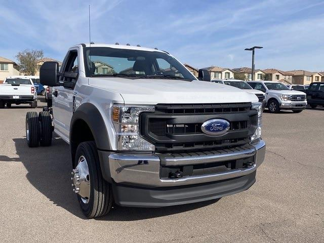 2021 Ford F-550 Regular Cab DRW 4x2, Cab Chassis #MEC71691 - photo 4