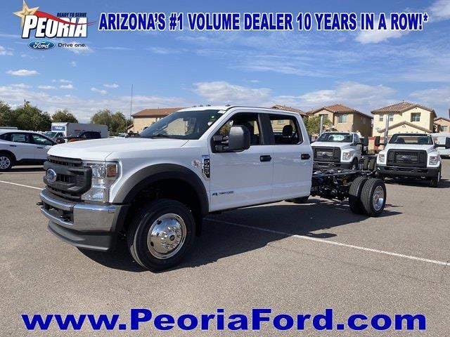 2021 Ford F-450 Crew Cab DRW 4x4, Cab Chassis #MEC71701 - photo 24