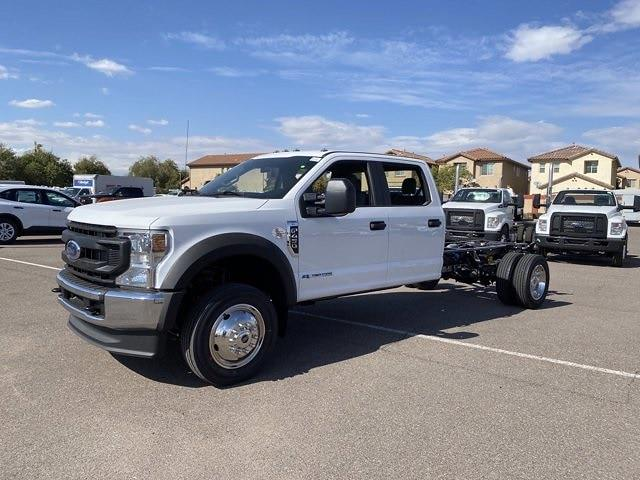 2021 Ford F-450 Crew Cab DRW 4x4, Cab Chassis #MEC71702 - photo 4