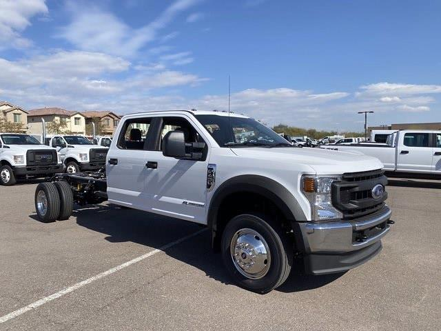 2021 Ford F-450 Crew Cab DRW 4x4, Cab Chassis #MEC71702 - photo 1