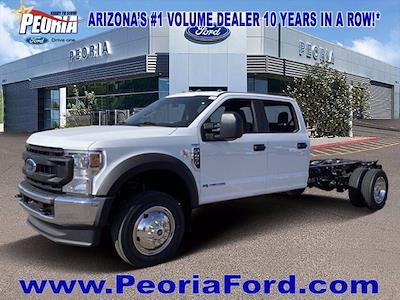 2021 Ford F-450 Crew Cab DRW 4x4, Cab Chassis #MEC71702 - photo 25