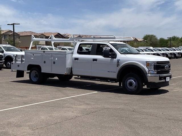 2021 Ford F-450 Crew Cab DRW 4x2, Scelzi Combo Body #MEC76479 - photo 1