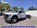 2021 Ford F-450 Crew Cab DRW 4x2, Cab Chassis #MED06618 - photo 1