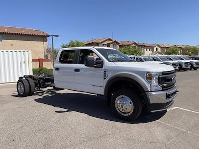 2021 Ford F-450 Crew Cab DRW 4x2, Cab Chassis #MED06619 - photo 1