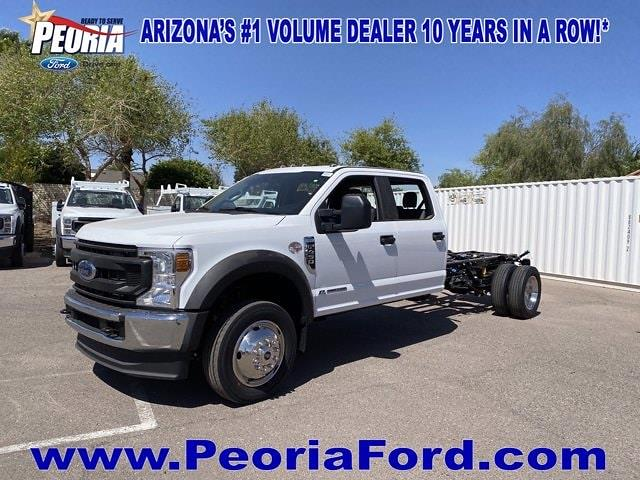 2021 Ford F-450 Crew Cab DRW 4x4, Cab Chassis #MED06623 - photo 2