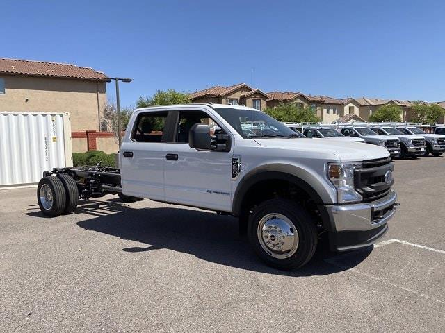 2021 Ford F-450 Crew Cab DRW 4x4, Cab Chassis #MED06623 - photo 1