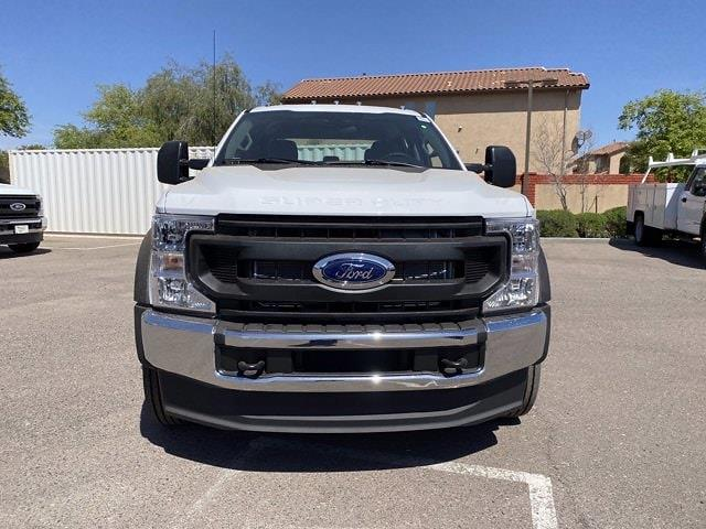 2021 Ford F-450 Crew Cab DRW 4x4, Cab Chassis #MED06623 - photo 4