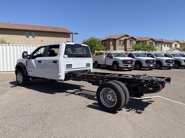 2021 Ford F-450 Crew Cab DRW 4x4, Cab Chassis #MED06623 - photo 8