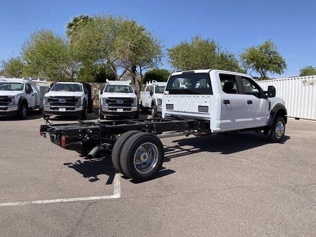 2021 Ford F-450 Crew Cab DRW 4x4, Cab Chassis #MED06623 - photo 3