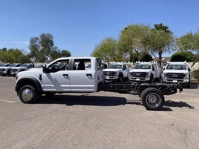 2021 Ford F-450 Crew Cab DRW 4x4, Cab Chassis #MED06623 - photo 6