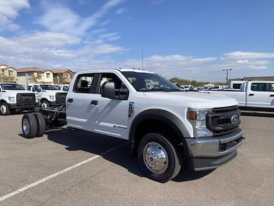 2021 Ford F-450 Crew Cab DRW 4x4, Cab Chassis #MED06624 - photo 1