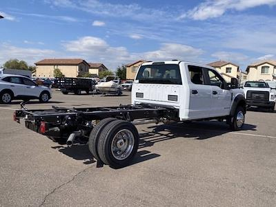 2021 Ford F-450 Crew Cab DRW 4x4, Cab Chassis #MED06624 - photo 2