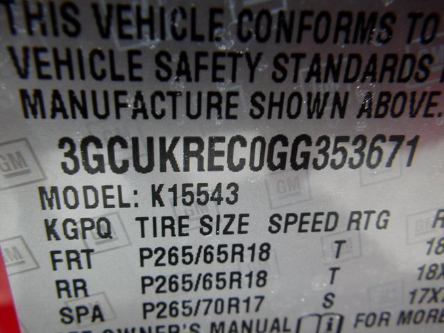 2016 Silverado 1500 Crew Cab 4x4 Pickup #26326 - photo 15