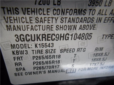 2017 Silverado 1500 Crew Cab 4x4,  Pickup #26446 - photo 20