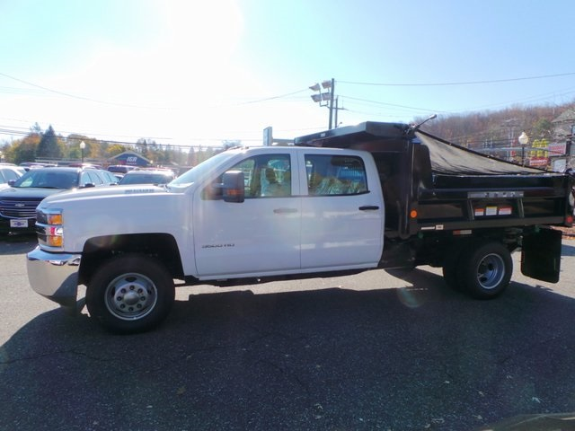 2016 Silverado 3500 Crew Cab DRW 4x4, Reading Dump Body #26662 - photo 8