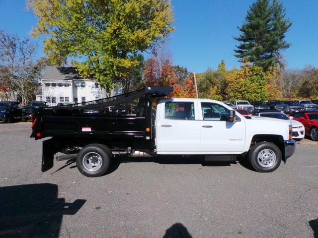 2016 Silverado 3500 Crew Cab DRW 4x4, Reading Marauder Standard Duty Dump Dump Body #26662 - photo 14
