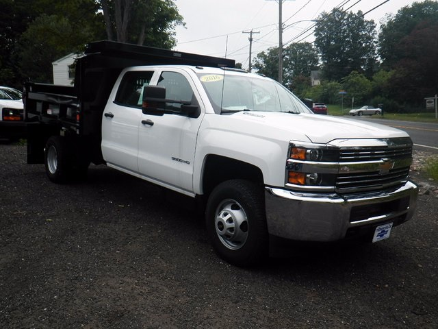 2016 Silverado 3500 Crew Cab DRW 4x4, Reading Dump Body #26662 - photo 9