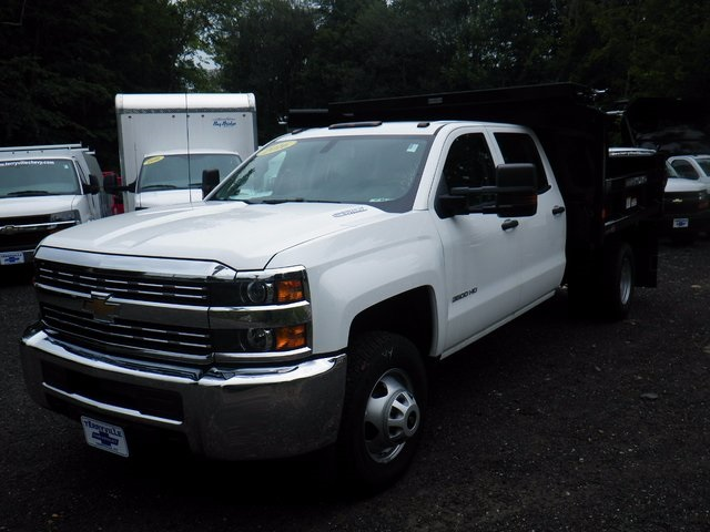 2016 Silverado 3500 Crew Cab DRW 4x4, Reading Dump Body #26662 - photo 4