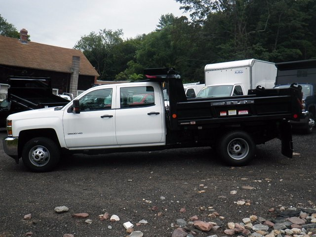2016 Silverado 3500 Crew Cab DRW 4x4, Reading Marauder Standard Duty Dump Dump Body #26662 - photo 7